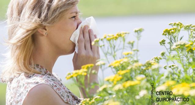 Las alergias y la quiropráctica